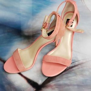 White House Black Market salmon heels¹
